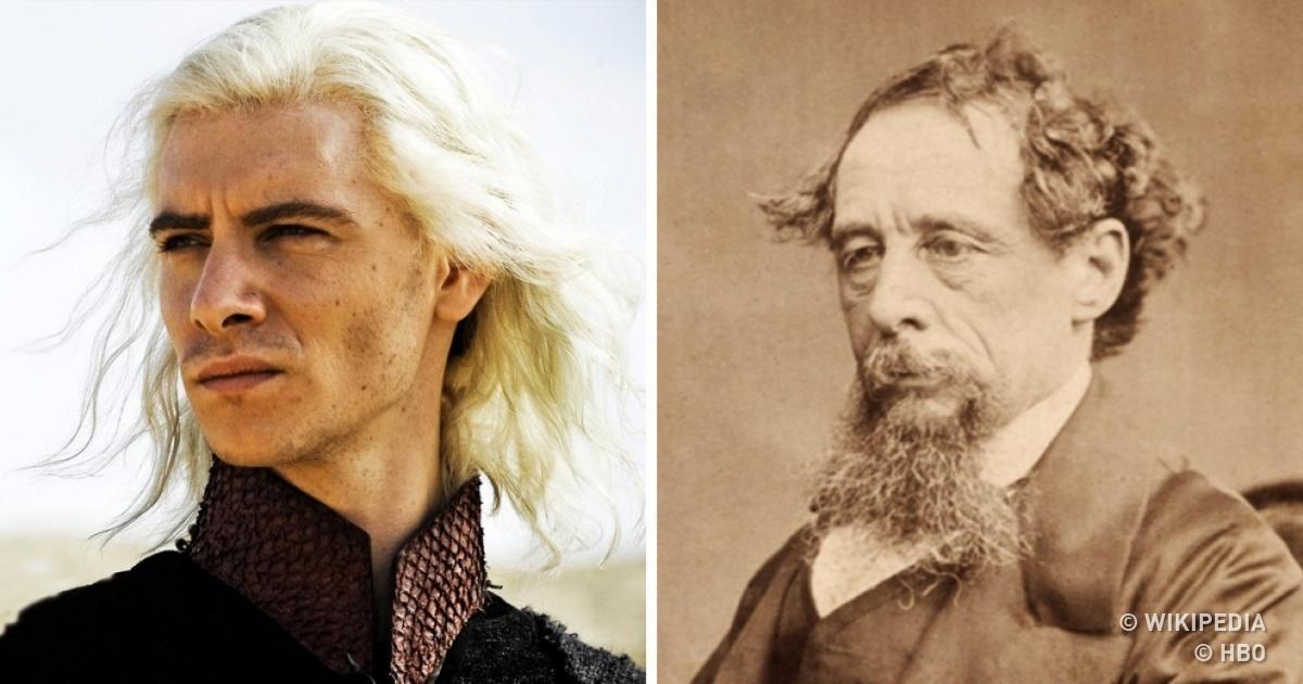 Voici les descendants de13grands écrivains