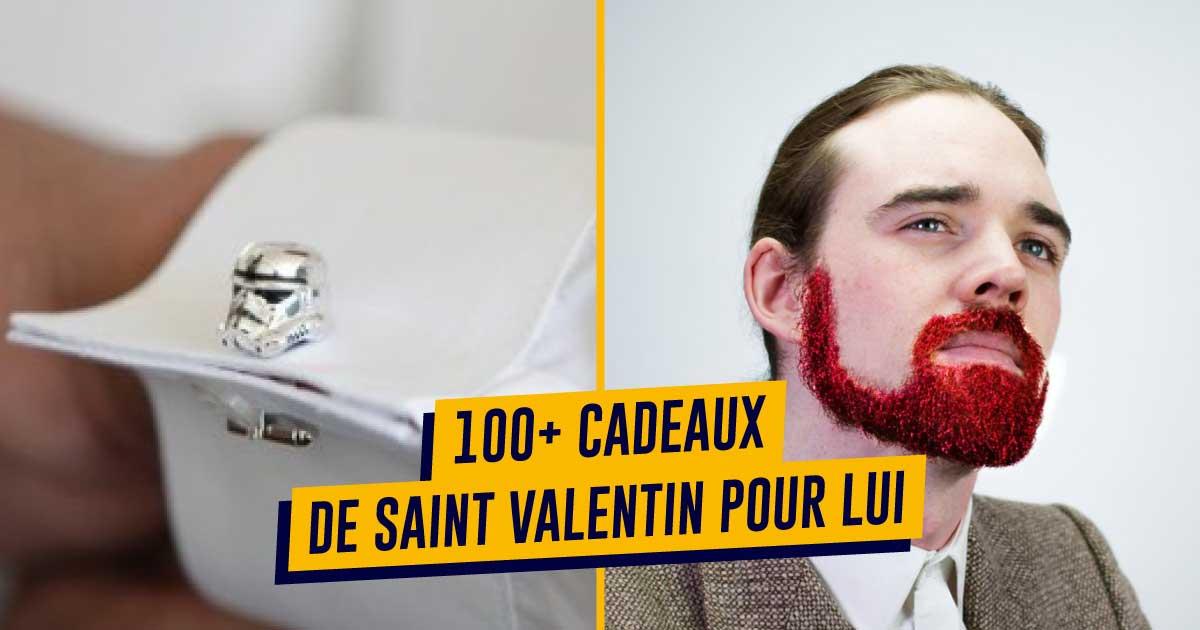 Top 100+ des idées de cadeaux Saint Valentin pour lui, insolites et originaux