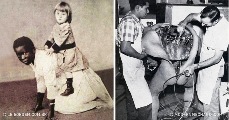 20 choses absurdes qui étaient absolument normales dans le passé!