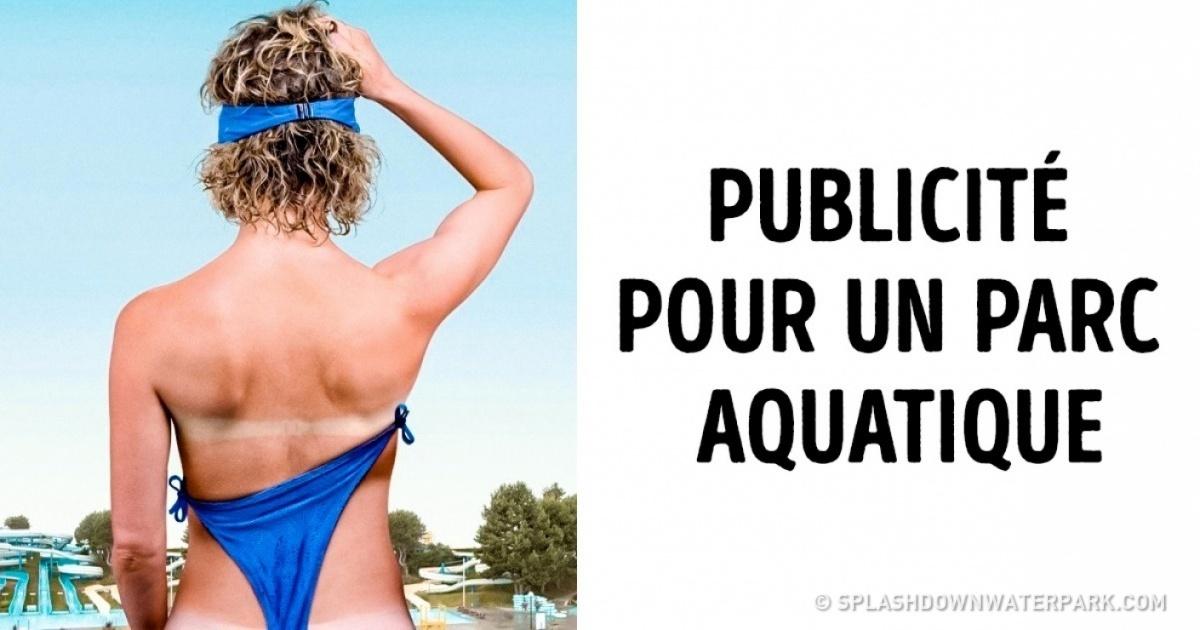 Les créateurs deces publicités savent parfaitement comment attirer notre attention !