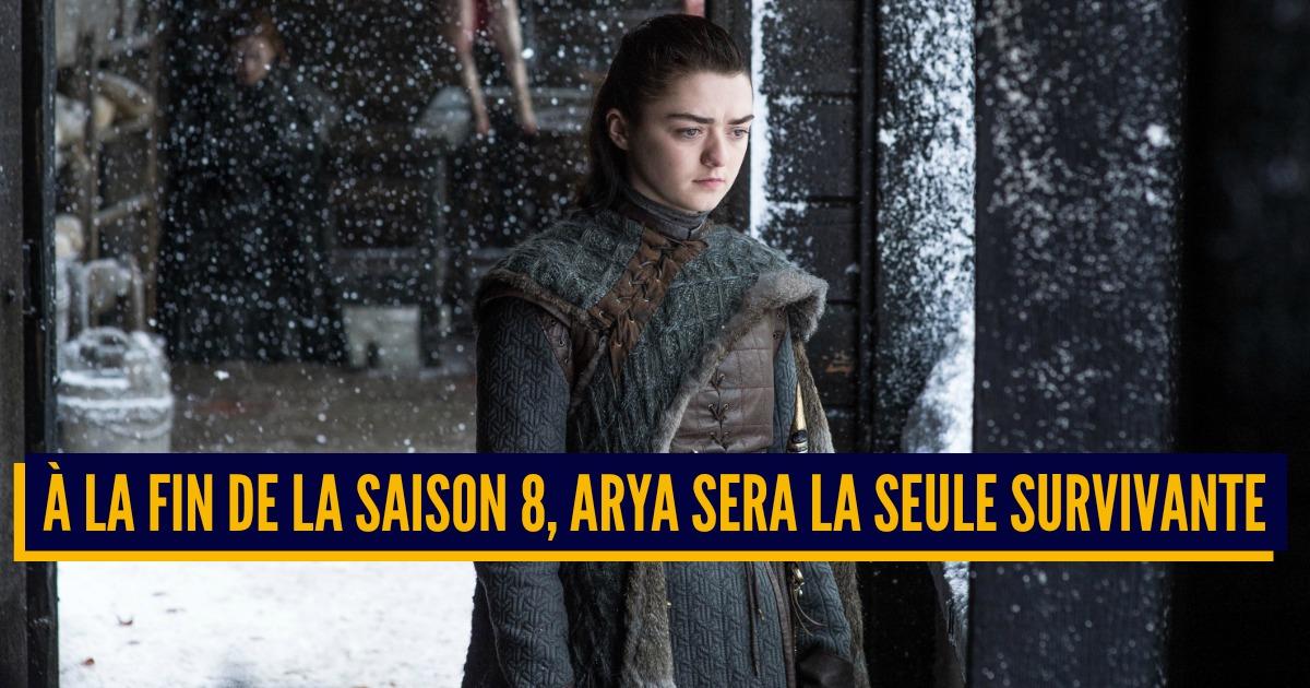 Top 10 des personnages de Game of Thrones qui vont survivre dans la dernière saison