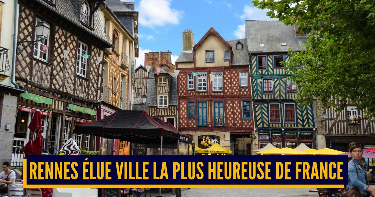 Top 10 des villes les plus heureuses de France, les Français ont voté