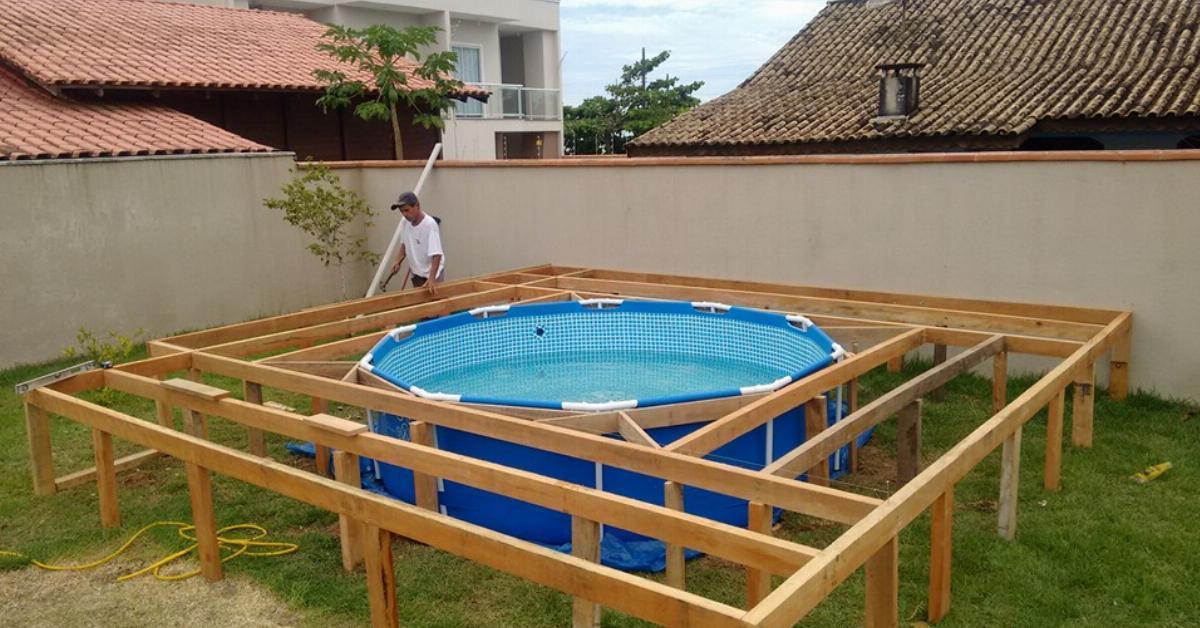 id e de g nie pour donner du cachet votre piscine hors sol alltrends. Black Bedroom Furniture Sets. Home Design Ideas