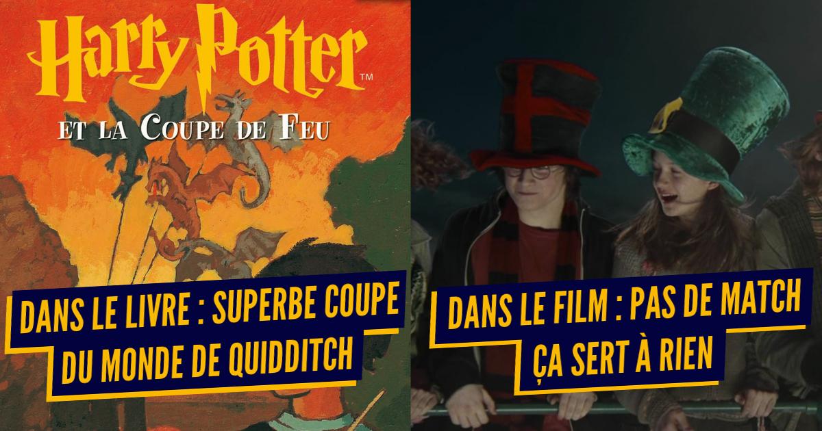 Top 10 des raisons de penser que les films Harry Potter sont foirés, bonjour le massacre