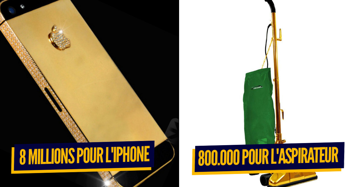 Top 10 des appareils électroniques les plus chers du monde, pour ceux qui ont trop d'argent