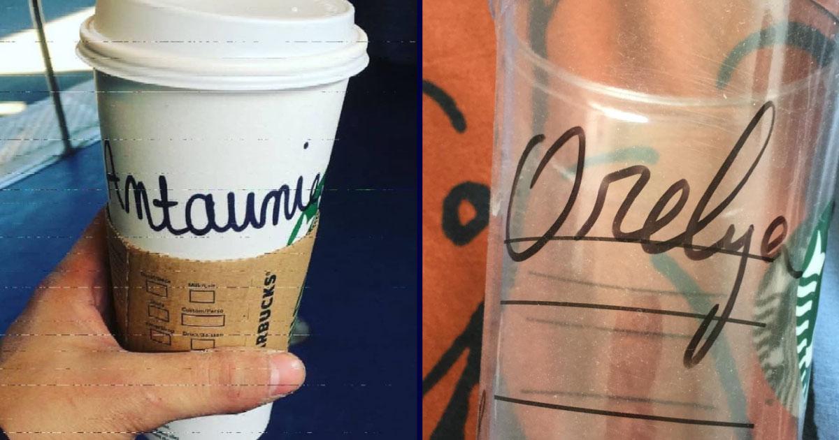 Top 12 des fois où Starbucks n'a pas respecté ton prénom