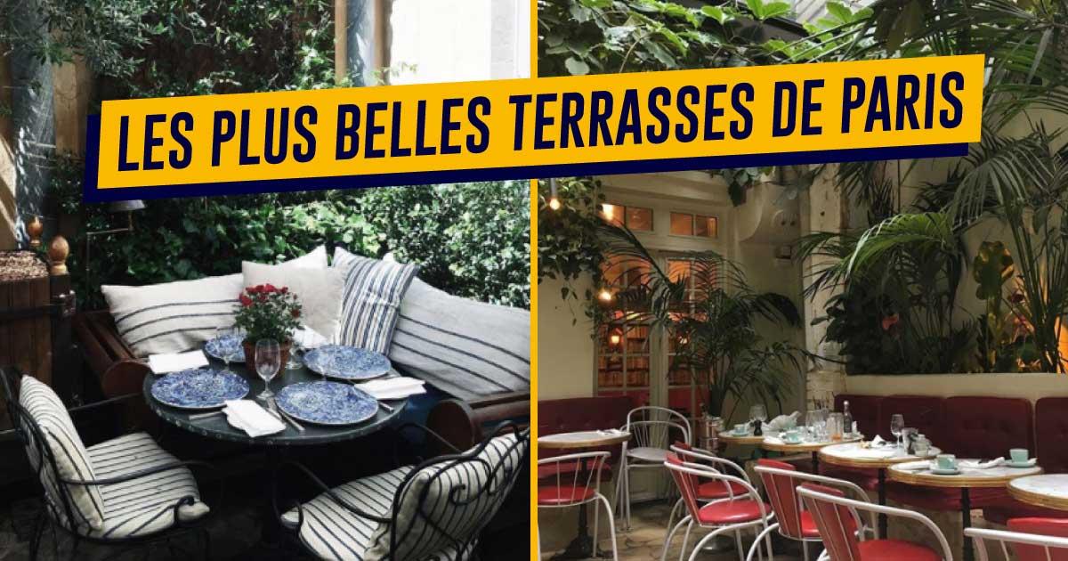 Plus adapté Top 20 des restaurants avec les plus belles terrasses de Paris JE-77
