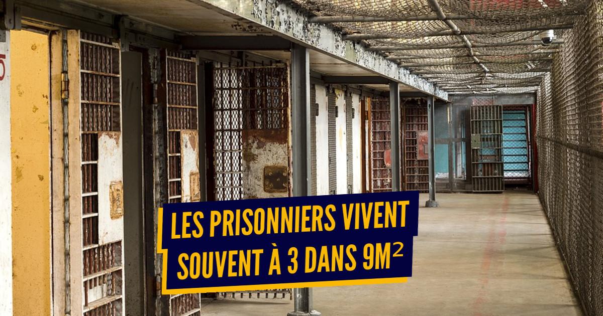 10 chiffres sur les prisons françaises, arrêtons de dire n'importe quoi