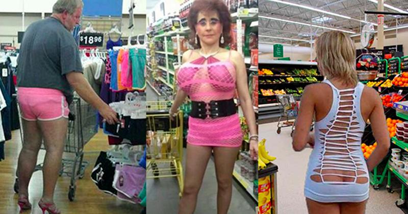 Les 25 pires tenues vestimentaires rencontrées dans un supermarché !