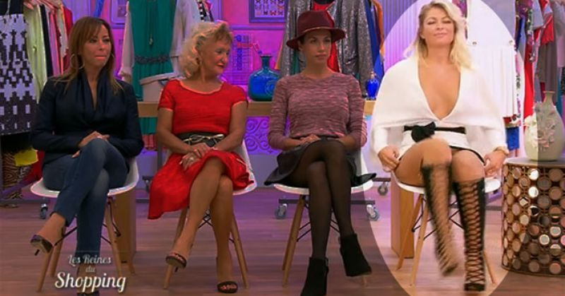 Daria porte-t-elle oui ou non une culotte dans l'émission Les Reines du Shopping ? Voici la vidéo qui sème le doute