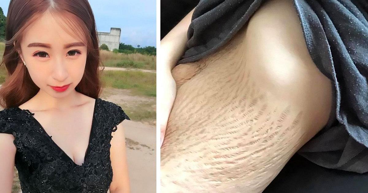 À 21 ans, une maman révèle des photos de son corps après 4 bébés et les commentaires des gens sont impensables.