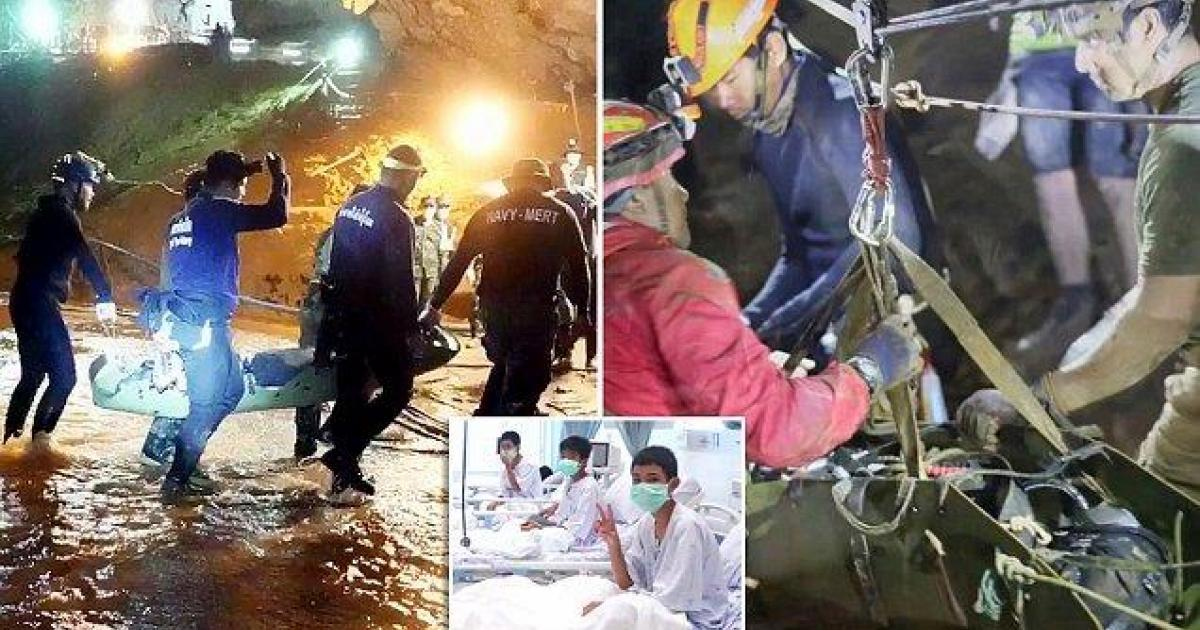 Les enfants secourus dans une grotte en Thaïlande ont été drogués aux sédatifs par les secouristes.