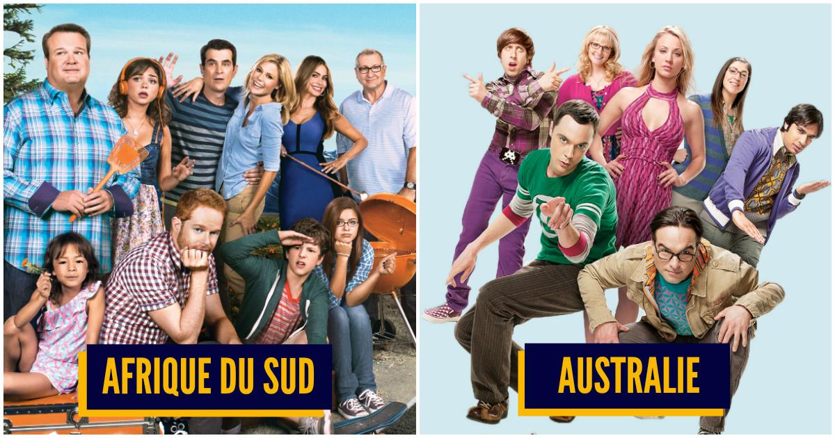 Top 10 des séries TV les plus populaires par pays, que regardent nos voisins ?