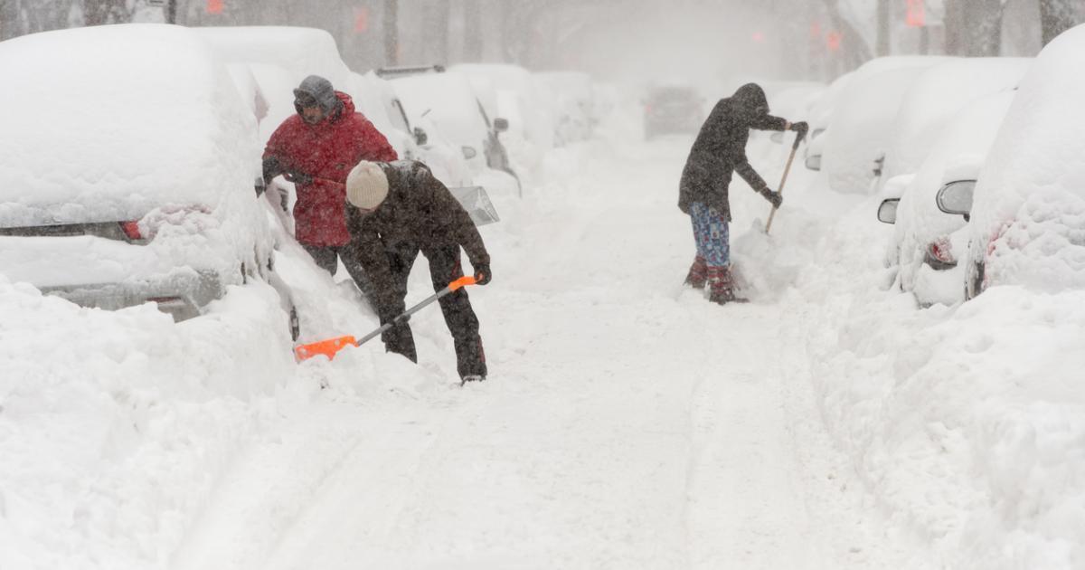 15 à 30 centimètres de neige ce weekend: une bombe météo s'approche en route vers le Québec.