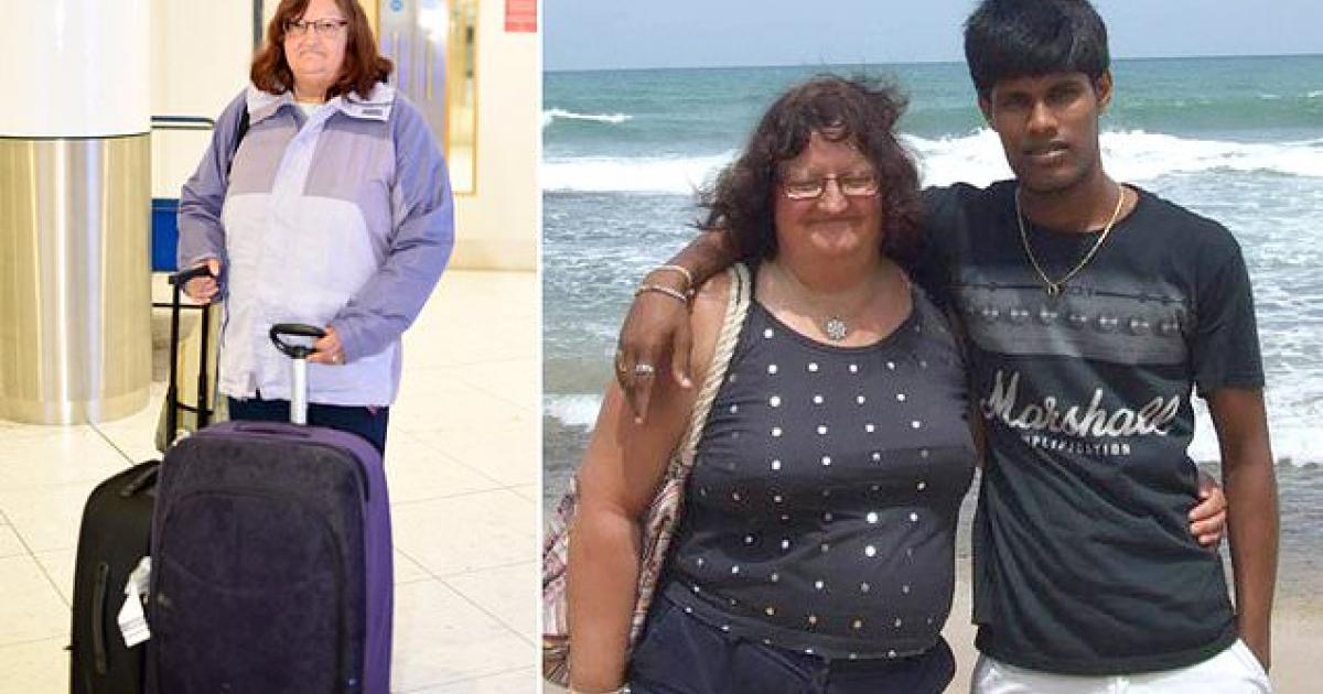 Une femme de 60 ans perd tout ce qu'elle possède après avoir marié un Sri Lankais de 26 ans
