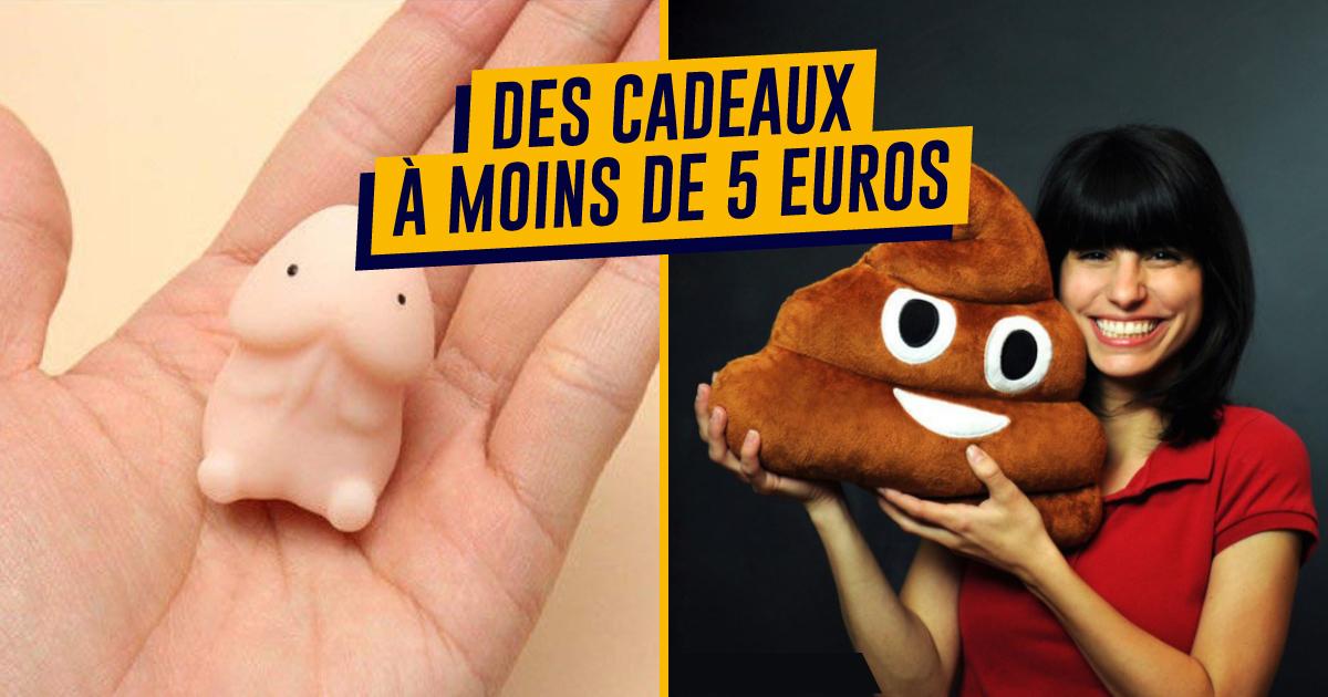 Idee Cadeau A Moins De 5 Euros.Top 40 Des Idees Cadeaux A Moins De 5 Euros Alltrends