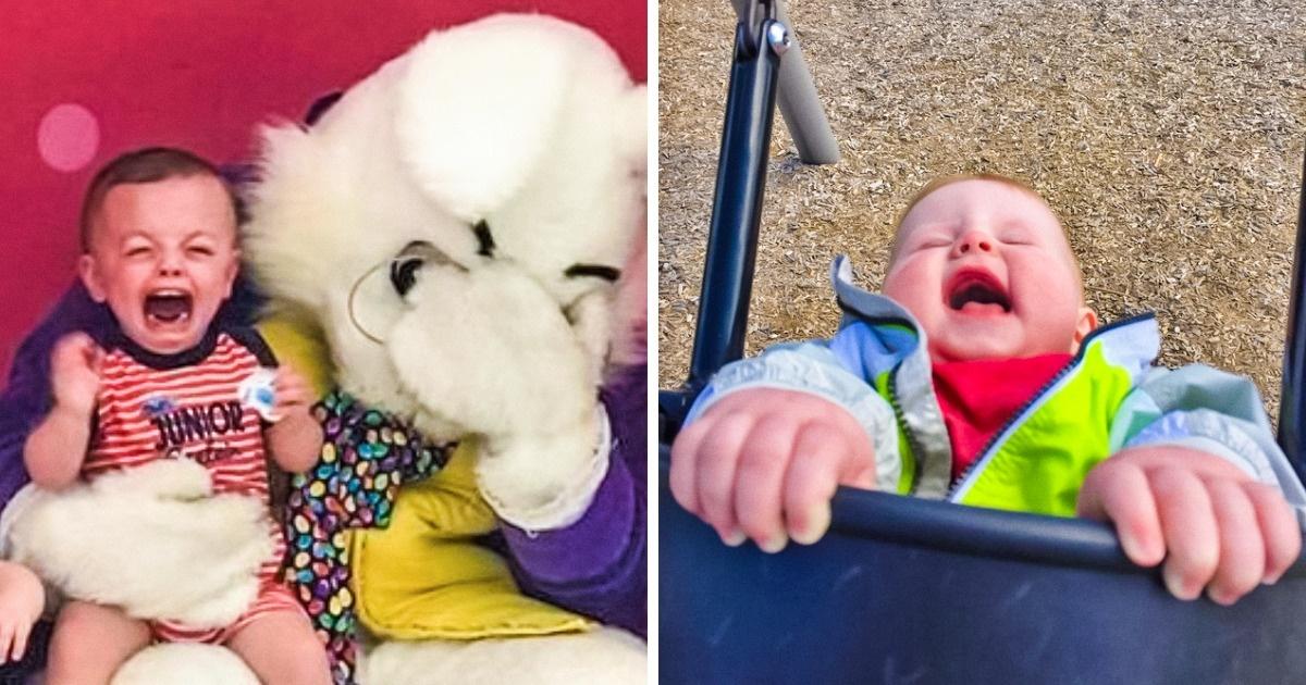 18Photos qui montrent que les parents sont parfois complètement dépassés par leurs enfants !