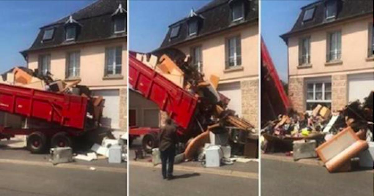 Un propriétaire se venge des locataires qui ont saccagé son appartement