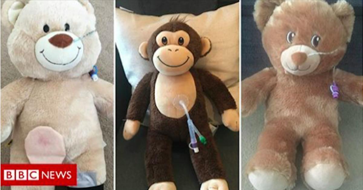 Des animaux en peluche intubés aident les enfants malades à comprendre leurs maladies