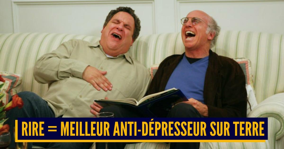 Top 10 des effets positifs du rire sur la santé