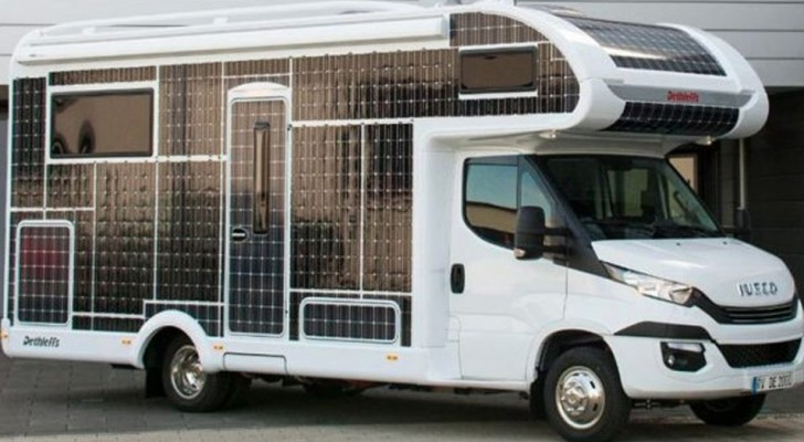 Le nouveau camper Iveco voyage sans carburant et offre une expérience de conduite sans précédent