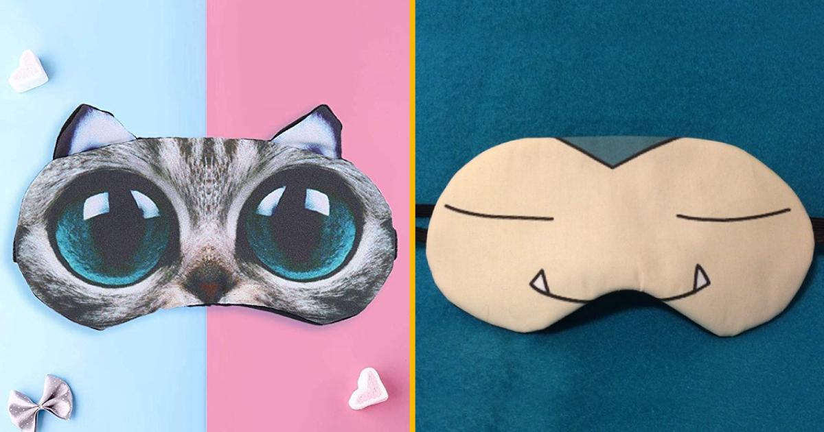 Top 30+ des masques de nuit les plus cool de l'internet, pour dormir n'importe où