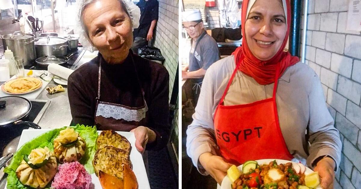 Des grands-mères originaires dumonde entier partagent leurs recettes defamille