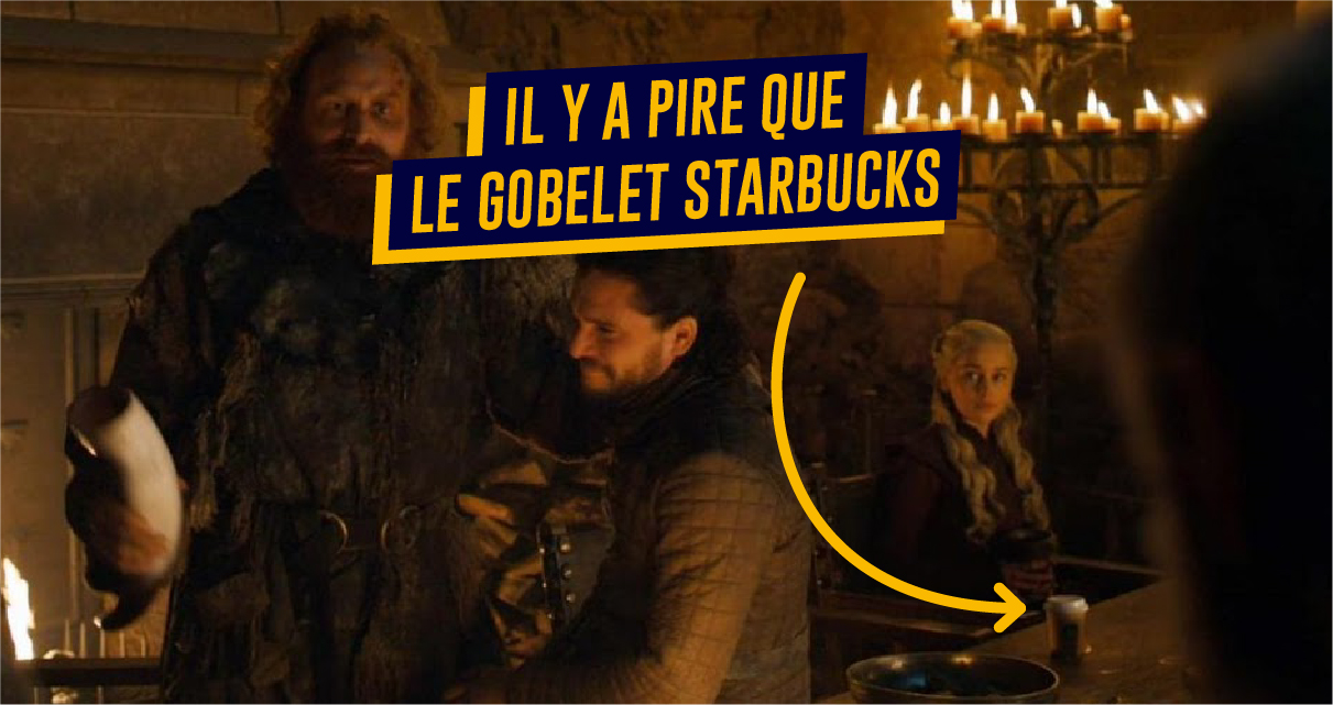 Top 10 des placements produits que vous n'aviez pas remarqués dans Game of Thrones, après le gobelet Starbucks