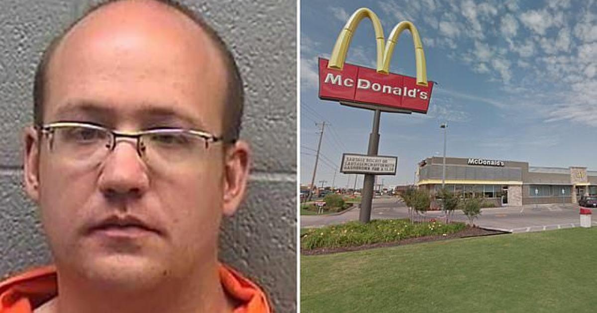Un homme de 37 ans arrêté pour avoir violé une fillette de 4 ans dans les toilettes d'un Mcdonald's