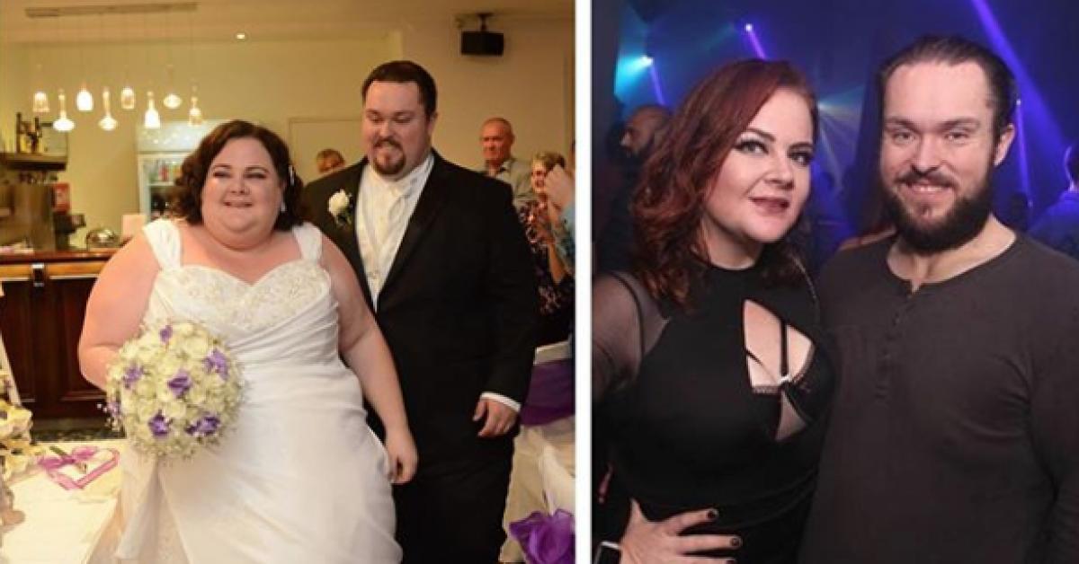 Un couple en surpoids décide de perdre du poids après son mariage