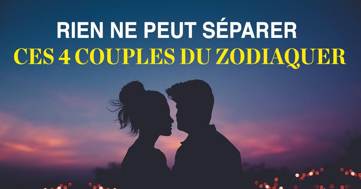 Rien ne peut séparer ces 4 couples du zodiaque, leur amour est puissant