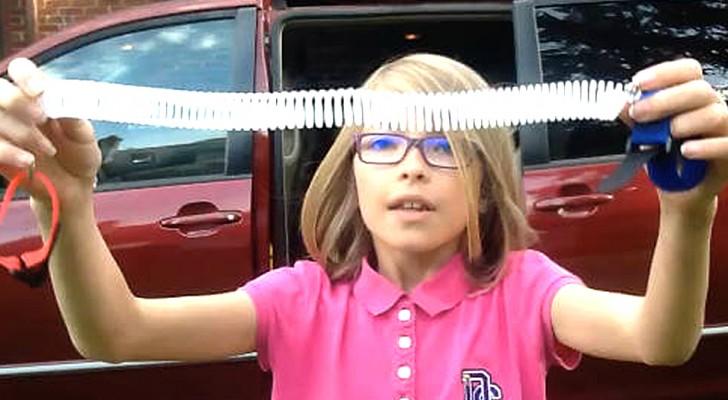 Cette fillette de 9 ans a inventé un système génial pour éviter que les parents oublient leurs enfants en voiture