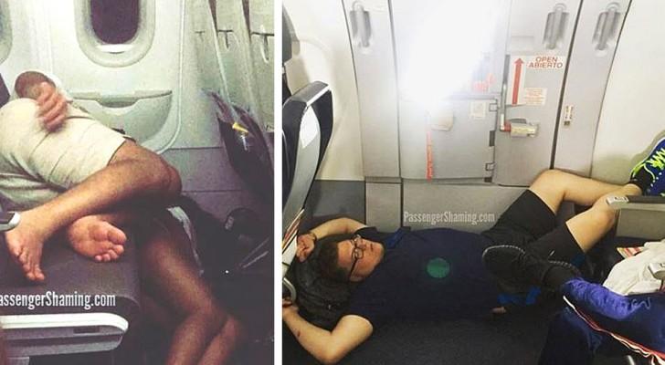 Grossièreté en haute altitude : 12 photos montrant le pire visage des passagers