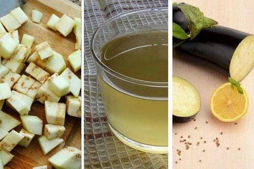 L'eau à l'aubergine et au citron pour réduire le cholestérol — Améliore ta Santé
