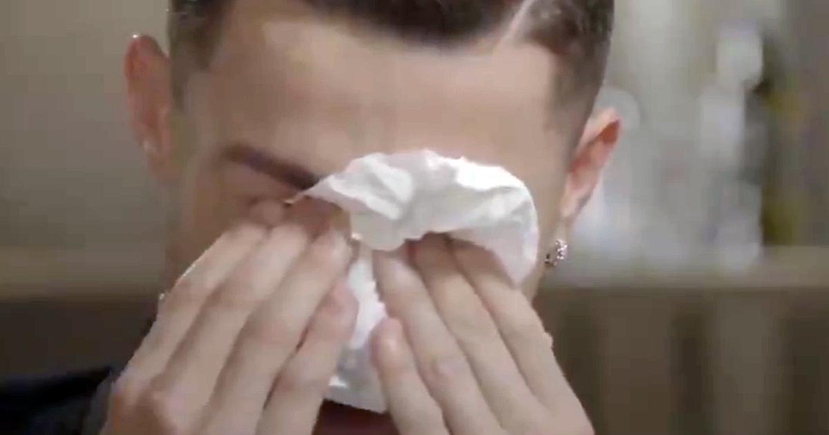 Cristiano Ronaldo fond en larmes dans une entrevue