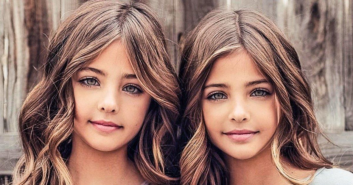 Voici les plus belles jumelles du monde (attention, cœurs fragiles ...