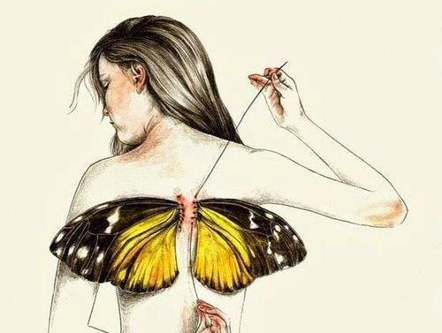 Nous naissons tous avec des ailes mais parfois, la vie nous les arrache — Améliore ta Santé