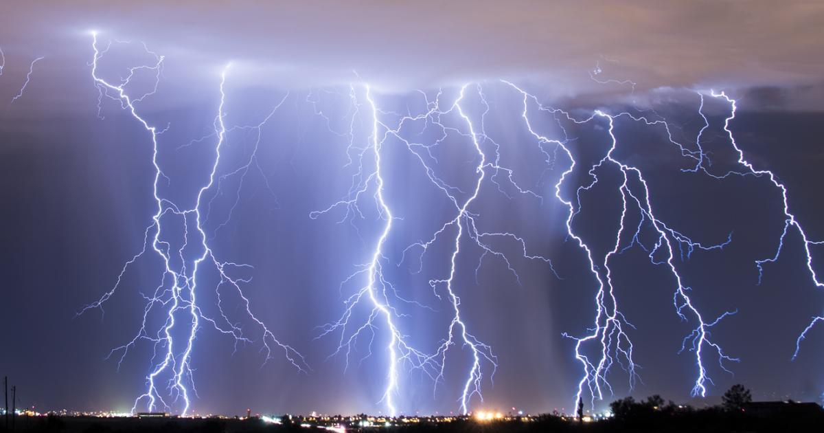 Le Québec menacé par des orages violents dont un secteur sous haute surveillance.