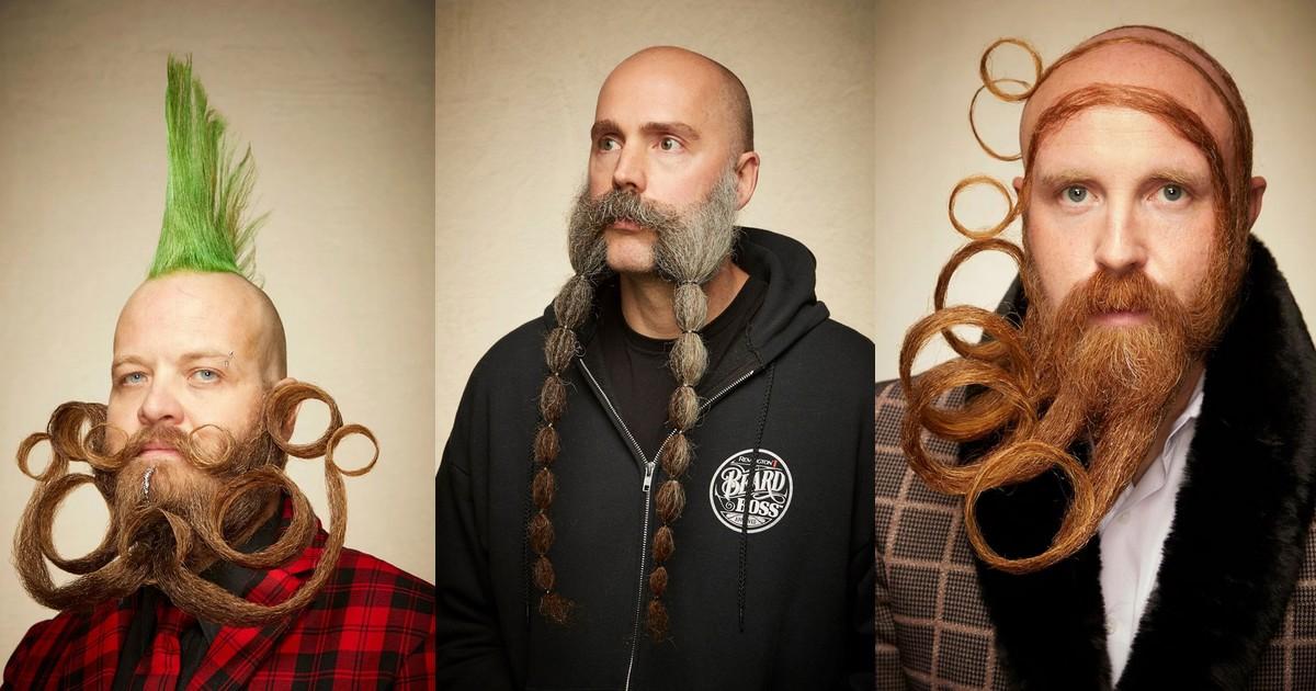 Les barbes et moustaches les plus originales aperçues lors du championnat du monde 2019
