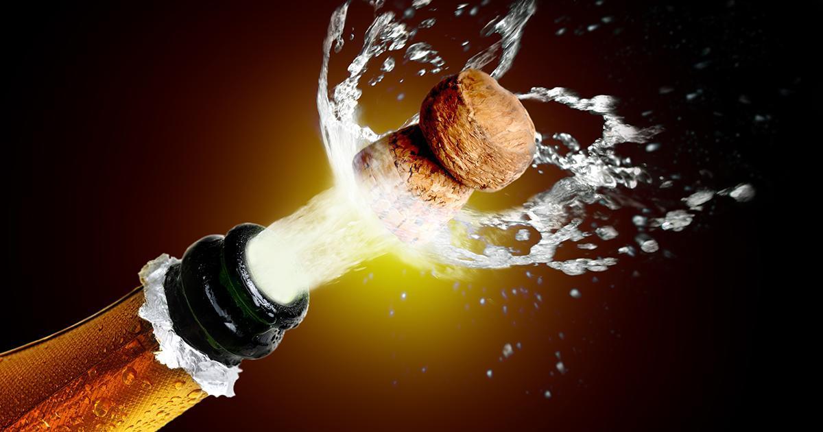 «La première cause de cécité en France, c'est le bouchon de champagne dans l'oeil»