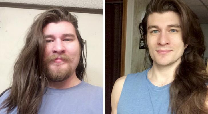 Après avoir perdu plus de 30 kilos, cet homme ressemble à un véritable prince Disney