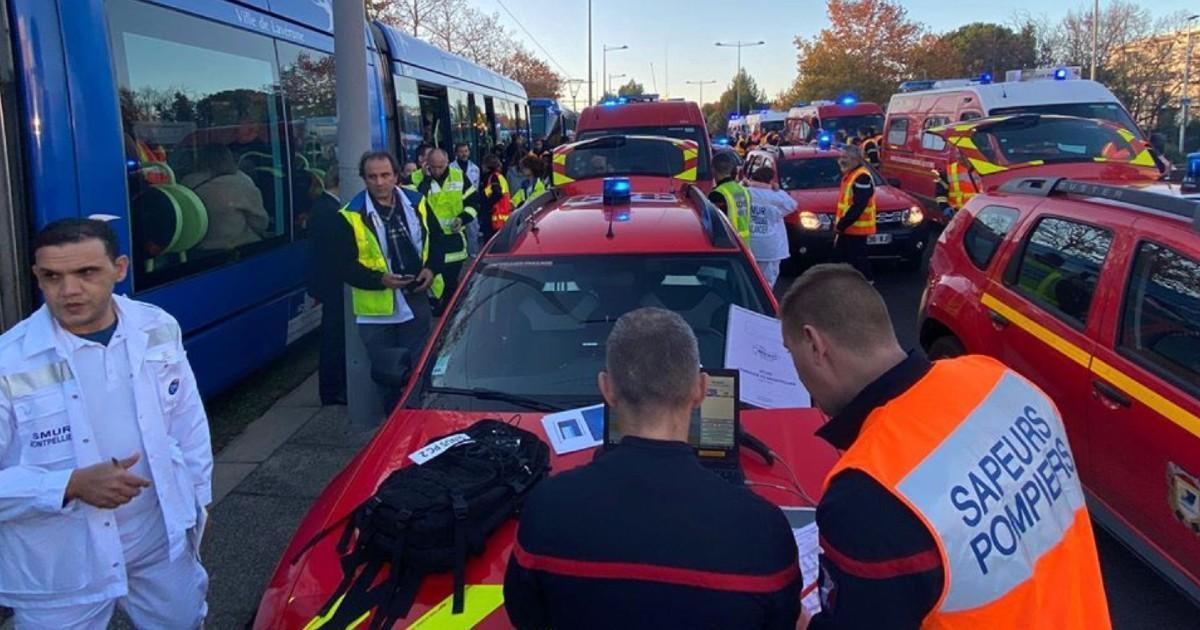 DERNIÈRE HEURE: Une collision entre 2 tramways fait 41 blessés à Montpellier