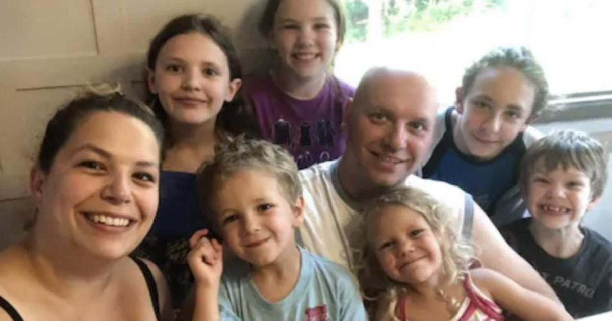 Un fonds de 200 000$ est recueilli pour une famille de six enfants dont le père est mort dans un accident.