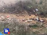 Video: The aftermath of the deadly crash that killed Kobe Bryant | Daily Mail Online