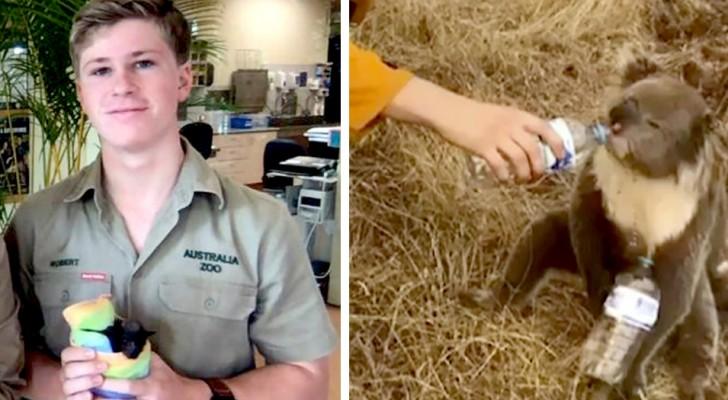 La famille de Steve Irwin ouvre les portes de son zoo pour sauver les animaux des incendies en Australie