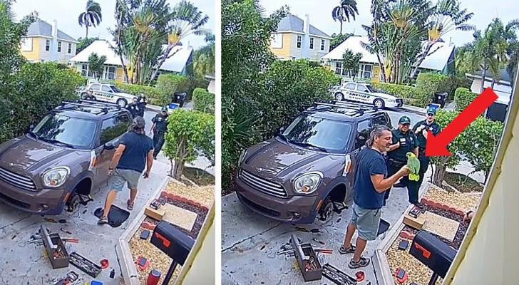 Les voisins entendent des cris de femme et appellent la police, mais c'était un perroquet coquin