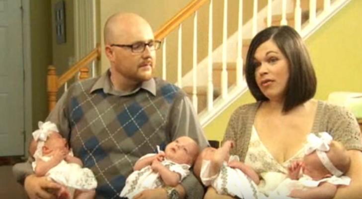 Ils n'arrivaient pas à avoir d'enfants, mais au final ils ont eu deux jumeaux : 2 garçons et 2 filles