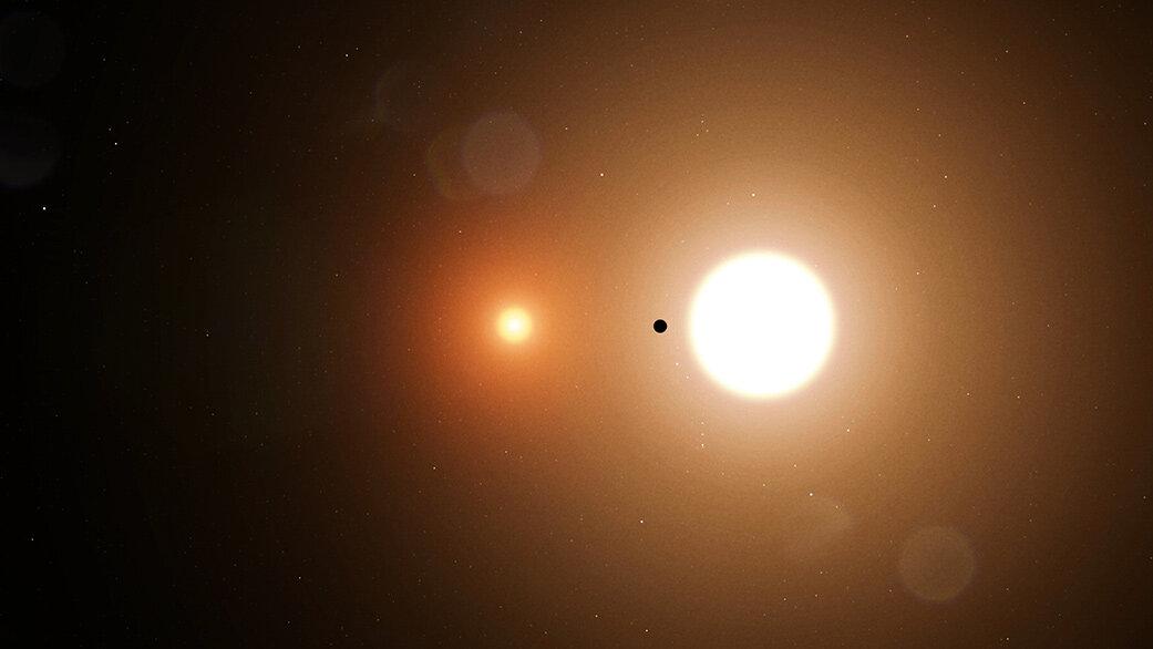 """TESS découvre sa première planète """"à deux soleils"""""""