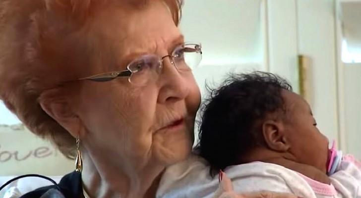 La compagnie aérienne ne laisse pas monter à bord le papa et le nouveau-né : une veuve généreuse les accueille pendant des jours chez elle