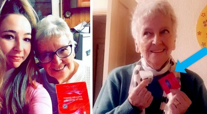 Cette grand-mère a par mégarde acheté un maxi paquet de préservatifs en pensant que c'était des sachets de thé